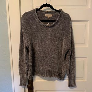 Grey, super soft sweater